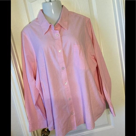 6de0b39f16002 Blair plus size top 4X blouse cotton Women